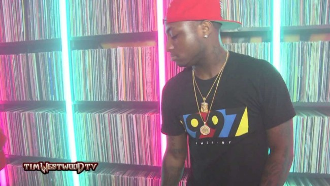 VIDEO :Davido Freestyle On Tim Westwood Crib Sessio