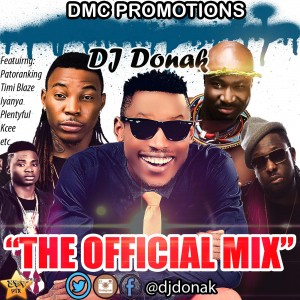 DJ DONAK - THE OFFICIAL MIX ART @DTVPIX