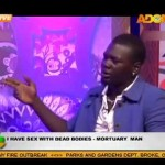 Why I Sleep With Dead Bodies – Man Makes Shocking Confession On Live TV Interview (Photo)