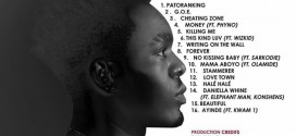 DEBUT ALBUM: Patoranking Releases Complete Track-list To G.O.E
