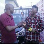 VIDEO: Mavin's Reekado Banks finally receives his Headies Award car