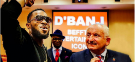 Dbanj Honoured With Entertainment Icon Award At BEFFTA