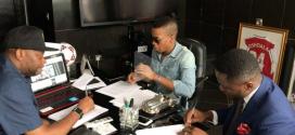 Tekno, Paul Okoye And Ubi Franklin In New York To Wrap Up $4 Million Sony Deal