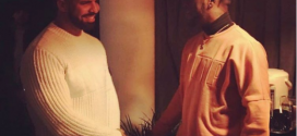 Drake And Burna Boy Link Up In London