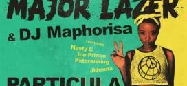 Major Lazer & DJ Maphorisa – Particula Ft. Patoranking, Ice Prince, Jidenna & Nasty C