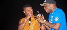 "#MajorShade; ""E no dey cure frog voice"", Wizkid Drags Davido On Twitter !!"